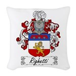 Righetti_Italian.jpg Woven Throw Pillow