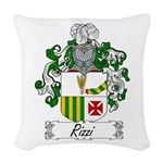 Rizzi_Italian.jpg Woven Throw Pillow