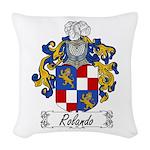 Rolando_Italian.jpg Woven Throw Pillow
