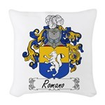 Romano_Italian.jpg Woven Throw Pillow