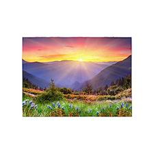 Majestic Sunset 5'x7'Area Rug