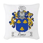 Romeo_Italian.jpg Woven Throw Pillow