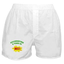 Celebrating Me! 8th Birthday Boxer Shorts