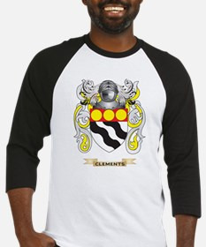 Clements Coat of Arms Baseball Jersey
