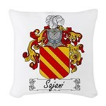 Sajani_Italian.jpg Woven Throw Pillow