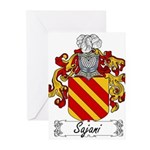 Sajani_Italian.jpg Greeting Cards (Pk of 20)