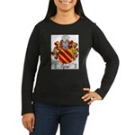 Sajani_Italian.jpg Women's Long Sleeve Dark T-Shir
