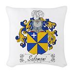 Salomoni_Italian.jpg Woven Throw Pillow