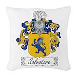 Salvatore_Italian.jpg Woven Throw Pillow