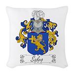 Salvo_Italian.jpg Woven Throw Pillow