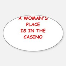 casino Decal