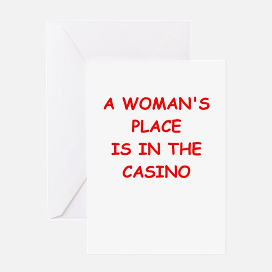 casino Greeting Card