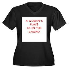 casino Plus Size T-Shirt