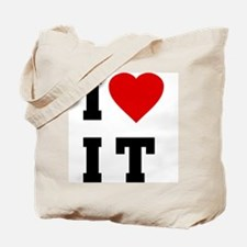I Love [Heart] It (I Luv It) Tote Bag