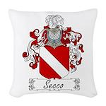 Secco_Italian.jpg Woven Throw Pillow