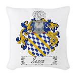 Sesso_Italian.jpg Woven Throw Pillow