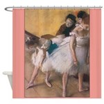 Degas Dancers Fine Art Shower Curtain