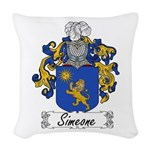 Simeone_Italian.jpg Woven Throw Pillow