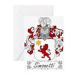 Simonetti_Italian.jpg Greeting Cards (Pk of 20)