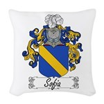 Sofia_Italian.jpg Woven Throw Pillow