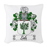 Sola_Italian.jpg Woven Throw Pillow