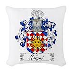 Solari_Italian.jpg Woven Throw Pillow