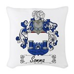 Somma_Italian.jpg Woven Throw Pillow