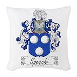 Specchi_Italian.jpg Woven Throw Pillow
