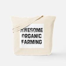 Awesome Organic Farming Tote Bag