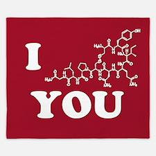 Oxytocin I Love You King Duvet