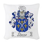 Stocco_Italian.jpg Woven Throw Pillow
