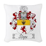 Stopa_Italian.jpg Woven Throw Pillow