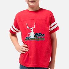 niceheadlights_black Youth Football Shirt