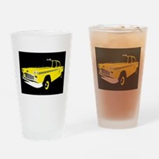 Unique Taxi Drinking Glass