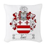 Tanzi_Italian.jpg Woven Throw Pillow