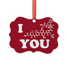 Oxytocin I Love You Ornament