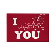 Oxytocin I Love You Rectangle Magnet
