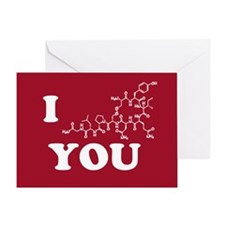 Oxytocin I Love You Greeting Card