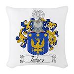 Todaro_Italian.jpg Woven Throw Pillow