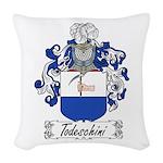 Todeschini_Italian.jpg Woven Throw Pillow