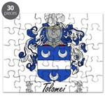 Tolomei Family Crest Puzzle