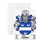 Tolomei Family Crest Greeting Cards (Pk of 20)