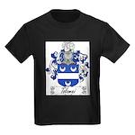 Tolomei Family Crest Kids Dark T-Shirt