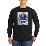 Tolomei Family Crest Long Sleeve Dark T-Shirt