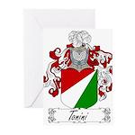 Tonini Coat of Arms Greeting Cards (Pk of 20)