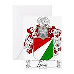 Tonini Coat of Arms Greeting Card