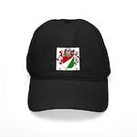 Tonini Coat of Arms Black Cap