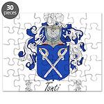 Tonti Coat of Arms Puzzle