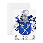 Tonti Coat of Arms Greeting Card