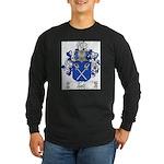 Tonti Coat of Arms Long Sleeve Dark T-Shirt